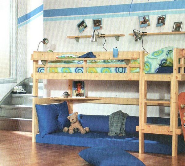 hochbett massivholz lifetime classic in ellerstadt. Black Bedroom Furniture Sets. Home Design Ideas