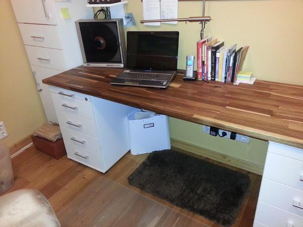 hochwertige b roreinrichtung von momo abzugeben neuwertig in bruchk bel b rom bel kaufen. Black Bedroom Furniture Sets. Home Design Ideas