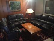 Hochwertiges Echtleder Sofa