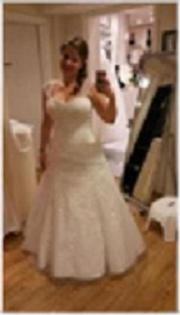 Hochzeitskleid für die