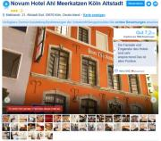 Hotelübernachtung in Köln -