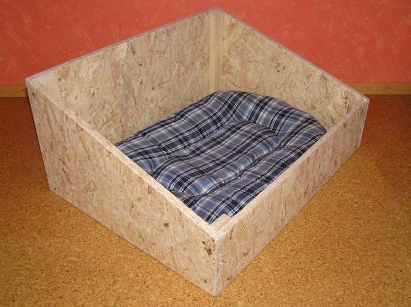 hundebett hundekiste holz unbehandelt natur neu in neuhausen zubeh r f r haustiere kaufen und. Black Bedroom Furniture Sets. Home Design Ideas