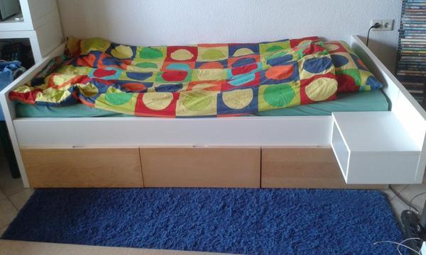 ikea bett kaufen gebraucht und g nstig. Black Bedroom Furniture Sets. Home Design Ideas