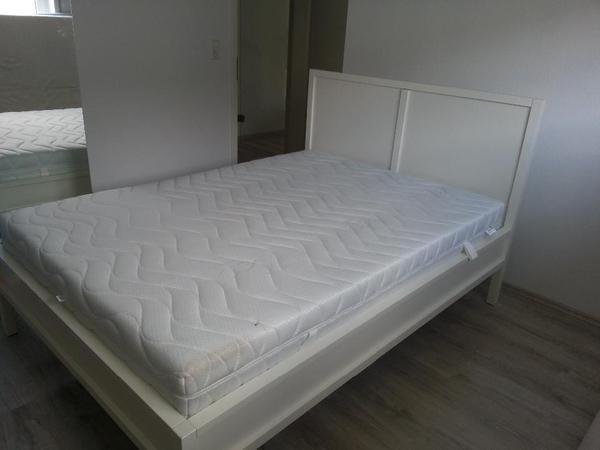 ikea bett trondheim in schriesheim betten kaufen und verkaufen ber private kleinanzeigen. Black Bedroom Furniture Sets. Home Design Ideas