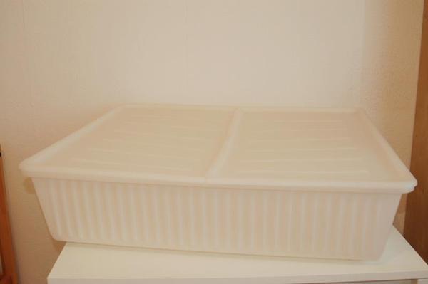 ikea dilling aufbewahrungsboxen kisten 4 st ck in haar. Black Bedroom Furniture Sets. Home Design Ideas