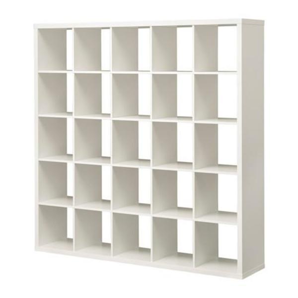 ikea expedit kallax 5x5 mit 25 f cher weiss in neu isenburg ikea m bel kaufen und. Black Bedroom Furniture Sets. Home Design Ideas
