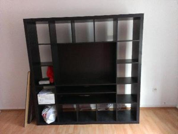 ikea regal schwarzbraun kaufen gebraucht und g nstig. Black Bedroom Furniture Sets. Home Design Ideas