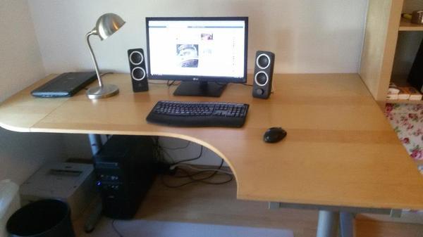 ikea galant schreibtisch g nstig abzugeben in ulm ikea. Black Bedroom Furniture Sets. Home Design Ideas