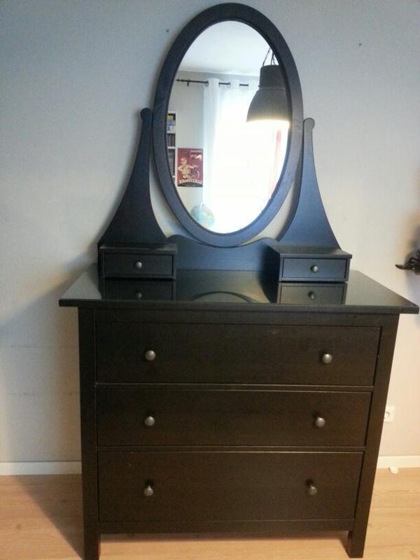 beliebte ikea kommode in schwarzbraun bei fragen gerne. Black Bedroom Furniture Sets. Home Design Ideas