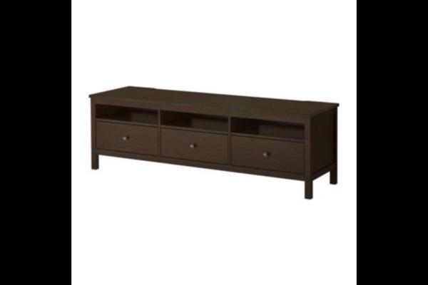 hemnes tv bank graubraun 2017 08 22 19 00 51. Black Bedroom Furniture Sets. Home Design Ideas