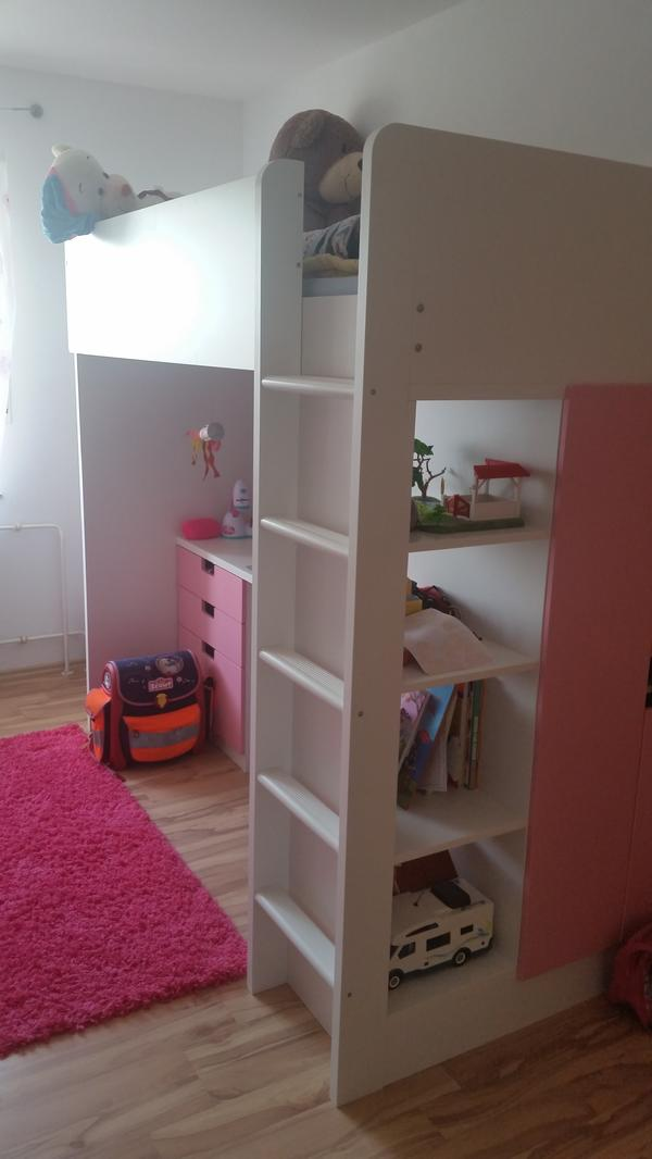 ikea hochbett stuva in ludwigshafen kinder jugendzimmer. Black Bedroom Furniture Sets. Home Design Ideas