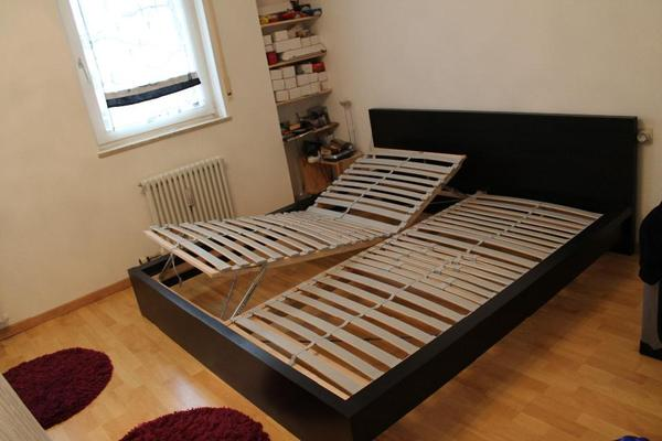 ikea malm bett malm bett mit 2 rollkisten das bett ist gerade mal 1 bed mattress sale. Black Bedroom Furniture Sets. Home Design Ideas