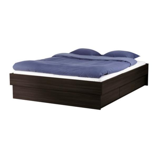 Ikea oppdal bett 180x200 matratze badenia irisette for Bett ikea 180x200