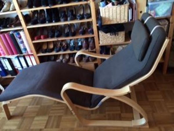 ikea po ng liegesessel dunkelbraun top in schuss in m nchen ikea m bel kaufen und verkaufen. Black Bedroom Furniture Sets. Home Design Ideas