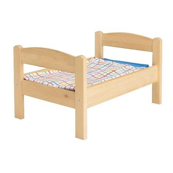 Lauflernwagen Holz Kleinanzeigen ~ Biete IKEA Puppenbett mit Bettwäsche Hier kann ihr Kind seine