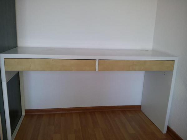Ikea Malm Bett Frühstückstisch ~ ikea schreibtisch micke wie neu ich biete einen 1 jahr alten ikea