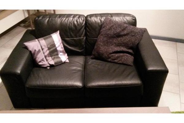 IKEA Skogaby Leder Couch 2er Sofa in Ludwigsburg - Polster, Sessel ...