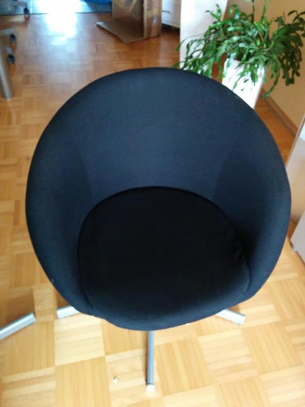 Ikea Kleiderschrank Falttüren ~ ikea skruvsta drehstuhl in schwarz ich verkaufen einen ikea skruvsta