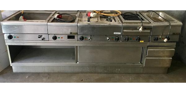 Außergewöhnlich Profi Küche Imbisseinrichtung Profi Küche Grill Ofen Abluft In Esslingen  Gastronomie Ladeneinrichtung