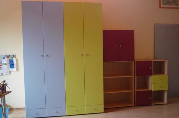 Jugendzimmer kinderzimmer mit 2 kleiderschr nken 5 for Kinderzimmer quoka