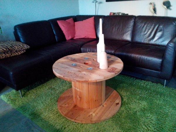 kabeltrommel couchtisch vintage industriestyle in plaidt couchtische kaufen und verkaufen ber. Black Bedroom Furniture Sets. Home Design Ideas