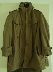 Kapuzen Parka Gr 54-56 / L-XL *WIE NEU* Neutrale Farbe * Futter rausnehmbar * Kapuzen Mantel *, gebraucht gebraucht kaufen  München
