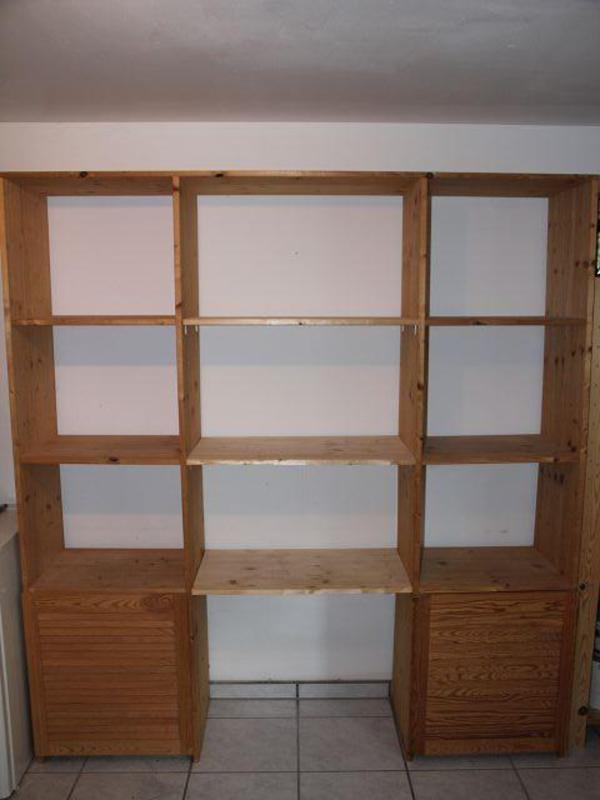 kellerregal regal raumteiler kiefer in neunkirchen regale kaufen und verkaufen ber private. Black Bedroom Furniture Sets. Home Design Ideas