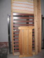 Kiefer-Massivholz Bett