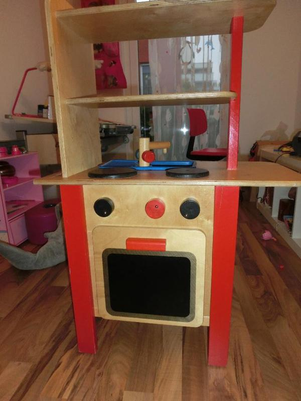 kinderkuche holz mit waschmaschine. Black Bedroom Furniture Sets. Home Design Ideas