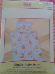 Kinderbettwäsche 40x60 cm +