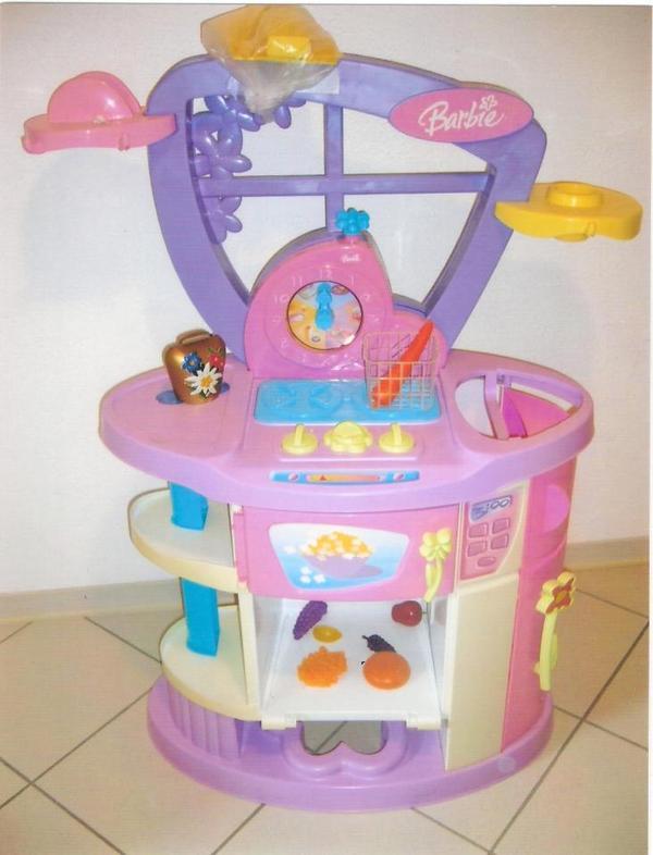 kinderk che barbie von mattel gebraucht rosa in schl chtern sonstiges kinderspielzeug kaufen. Black Bedroom Furniture Sets. Home Design Ideas