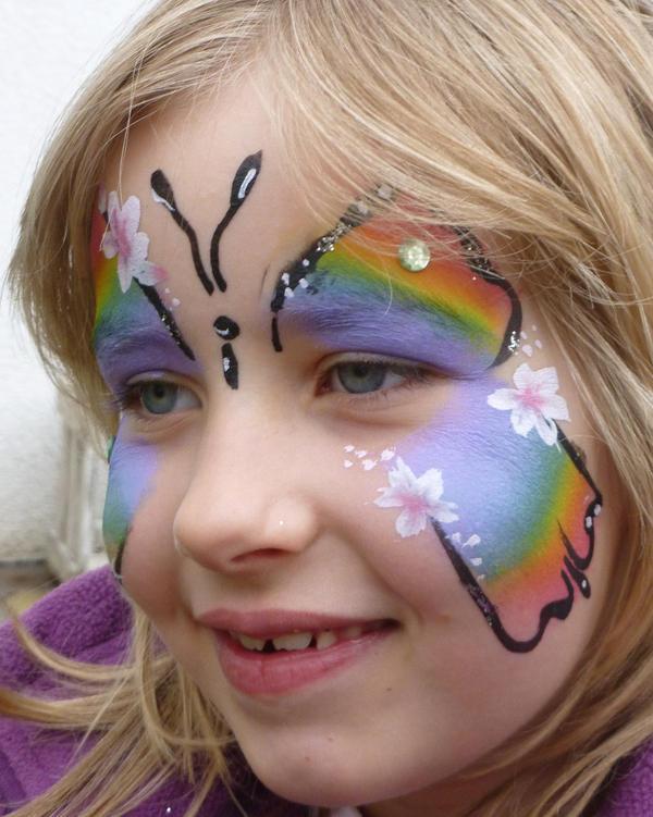 karneval prinzessin schminken