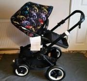 Kinderwagen Bugaboo schwarz