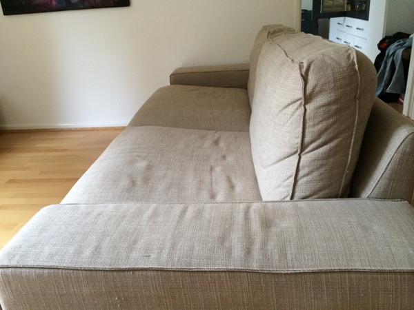 kivik 3er sofa isunda beige in frankfurt polster sessel couch kaufen und verkaufen ber. Black Bedroom Furniture Sets. Home Design Ideas