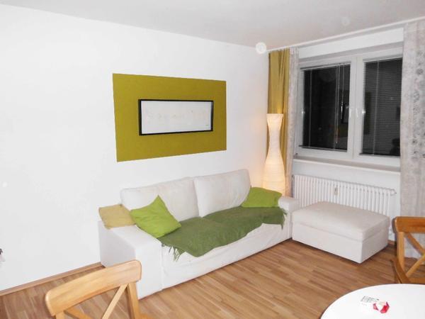 KIVIK Ikea 3er-Sofa creme weis (Dansbo weis) + Hocker in Berlin ...