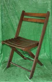 Klappstühle/Festzeltstühle aus