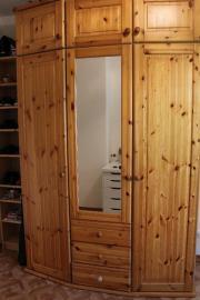 Kleiderschrank massiv Holz