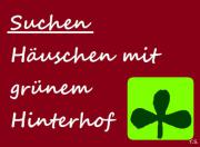 Kleines Schnäppchenhaus GESUCHT (