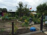 Kleingarten mit massiver