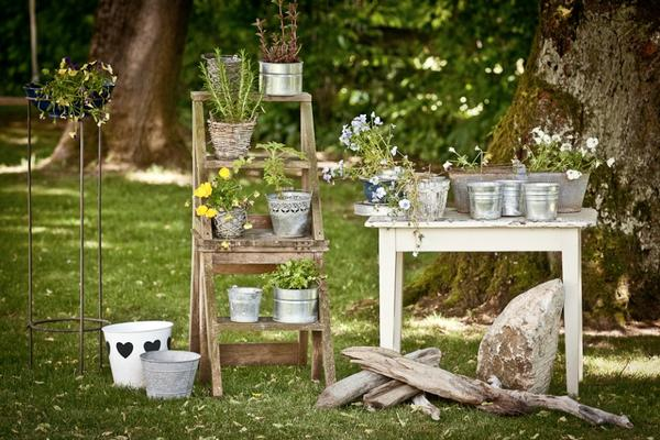 komplette shabby style gartendeko zu verkaufen in germering sonstiges f r den garten balkon. Black Bedroom Furniture Sets. Home Design Ideas