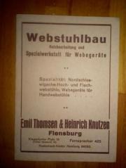 Kontermarsch Webstuhl