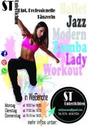 Kreativer moderner Tanzkurse (