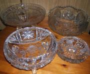 Kristallglas Sammlung
