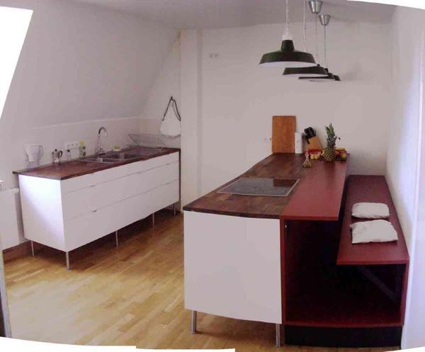 k che wei hochglanz mit schreinerbank in m nchen. Black Bedroom Furniture Sets. Home Design Ideas