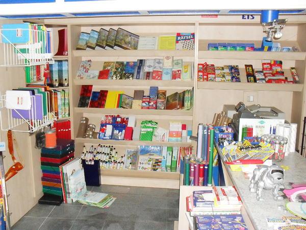Ladeneinrichtung schul und schreibwaren geschenkartikel for Hochwertige einrichtung