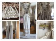Langes Trachtenkleid aus