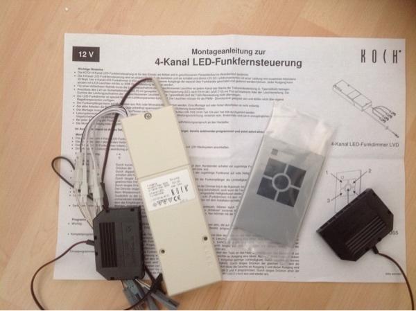 Funk kanal kaufen gebraucht und g nstig for Koch 4 kanal led funkfernsteuerung