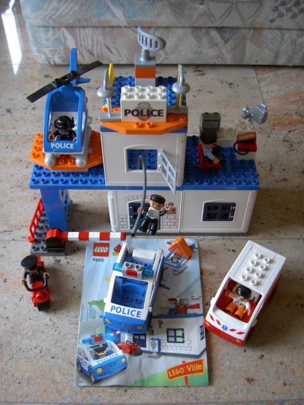 lego duplo polizeistation nr 4965 in bietigheim bissingen spielzeug lego playmobil kaufen. Black Bedroom Furniture Sets. Home Design Ideas