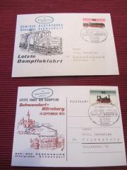 Letzte Dampflokfahrt Schwandorf-