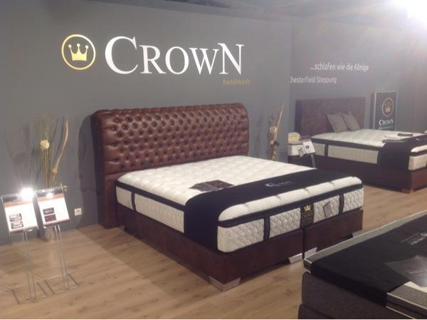 luxus boxspringbett baron direkt von der messe paris 180. Black Bedroom Furniture Sets. Home Design Ideas